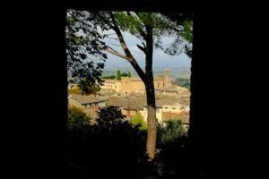Vistas desde Parcco della Rocca, San Gimignano