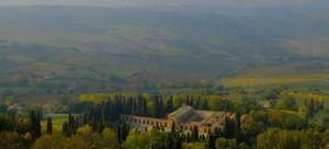 Vistas increíbles al Vall d´Orcia