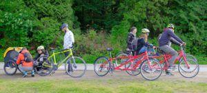 En bici por el Stanley Park