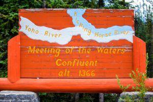 Meeting of the waters, Yoho