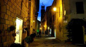 Corso Rosellino, Pienza, Toscana