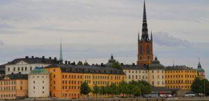 Vista de Gamla Stan, Estocolmo