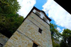 Detalle de la torre del Monasterio