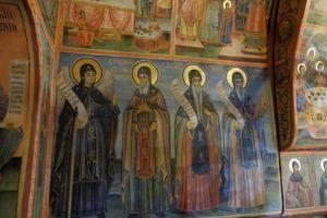 Interior del Monasterio de la Transfiguración