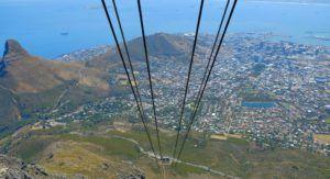 Table Mountain, el símbolo de Ciudad del Cabo en Sudáfrica