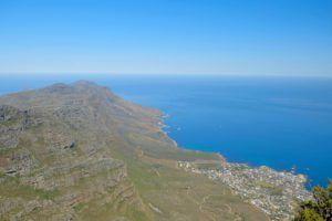 Desde la cima de la Table Mountain