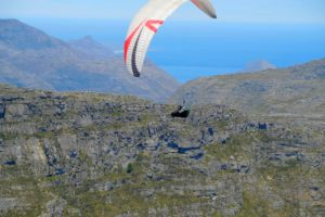 Parapente en Table Mountain