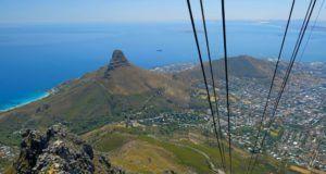 Table Mountain, subir en Teleférico