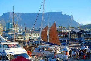 La Table Mountain está presente en toda Ciudad del Cabo