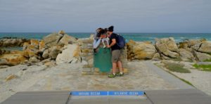 Cabo de las Agujas, unión de los oceanos