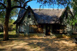 Cabañas en Hlane Ndlovu Camp