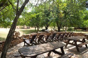 Restaurante de Hlane Ndlovu Camp