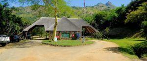 Entrada a la Reserva Natural de Mantenga, Suazilandia