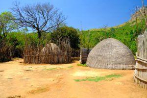 Villa Suazi dentro de la Reserva Natural de Mantenga, Suazilandia