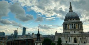 Mirador gratuito en One New Change, Londres