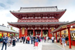 El templo Sensoji