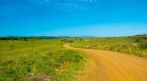 Carreteras de la Sección Este de Isimangaliso Wetland Park, Sudáfrica