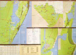 Mapa de Isimangaliso Wetland Park, Sudáfrica