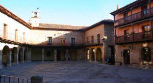 La Plaza Mayor de Albarracín