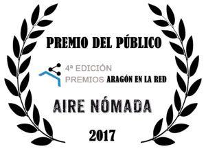 Airenomada gana el Premio del Público de Aragón en la Red