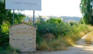 Entrada al pueblo de Noheda, Cuenca