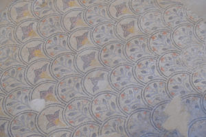 Detalle del Mosaico Romano de Noheda, Cuenca