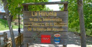 Entrada a La Hiruela