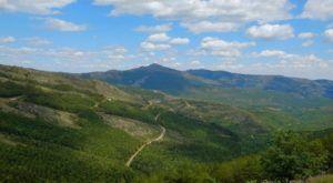 Vistas a la Sierra del Rincón desde Puebla de la Sierra
