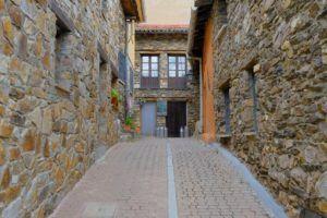 Arquitectura tradicional de las casas de la Puebla de la Sierra