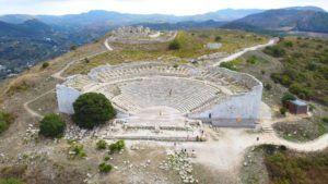 El Teatro de Segesta, Sicilia