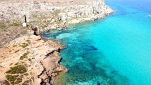 Cala Rossa, Isla Favignana, Islas Egadas