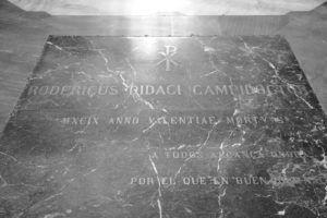 Tumba del Cid Campeador en la Catedral de Burgos