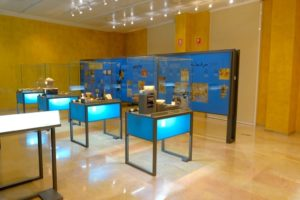 Interior del Museo del Teatro de Zaragoza