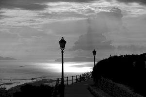 Vistas impresionantes del Gofo de Trapani desde el Castillo de Erice