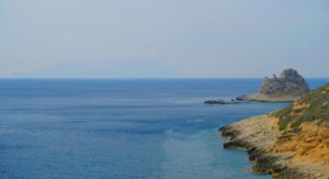 Farallones de la Isla Levanzo, Sicilia