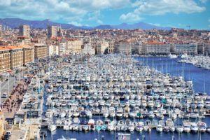 Puerto Viejo de Marsella, en ruta por el Sur de Francia
