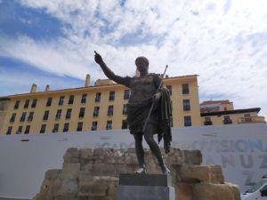Estatua del emperador Augusto, Zaragoza