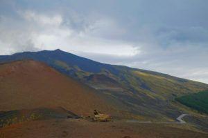 Cráter Silvestri del Volcán Etna