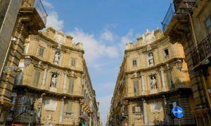 I quattro Canti, Palermo, Sicilia