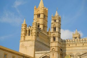 Exterior de la Catedral de Palermo, Sicilia