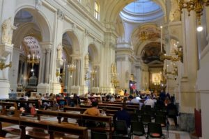 Interior de la Catedral de Palermo, Sicilia
