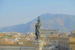 Vistas desde los almacenes Rinascente, Palermo