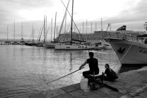 Puerto marítimo de Siracusa, Sicilia