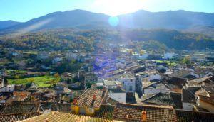 Vistas del  Valle de Ambroz y Hervás