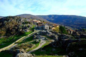 Vistas desde el Castillo de Trevejo, qué ver en la Sierra de Gata