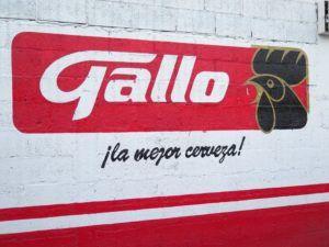 Gallo la mejor cerveza de Guatemala