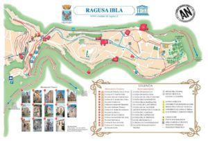 Mapa Turístico de Ragusa