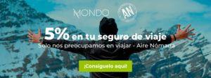 El mejor seguro para tus viajes con Mondo y Aire Nómada
