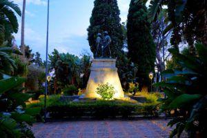 Villa Comunale, un remanso de paz en Taormina