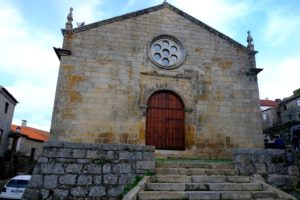 Iglesia Matriz o de San Salvador, Monsanto